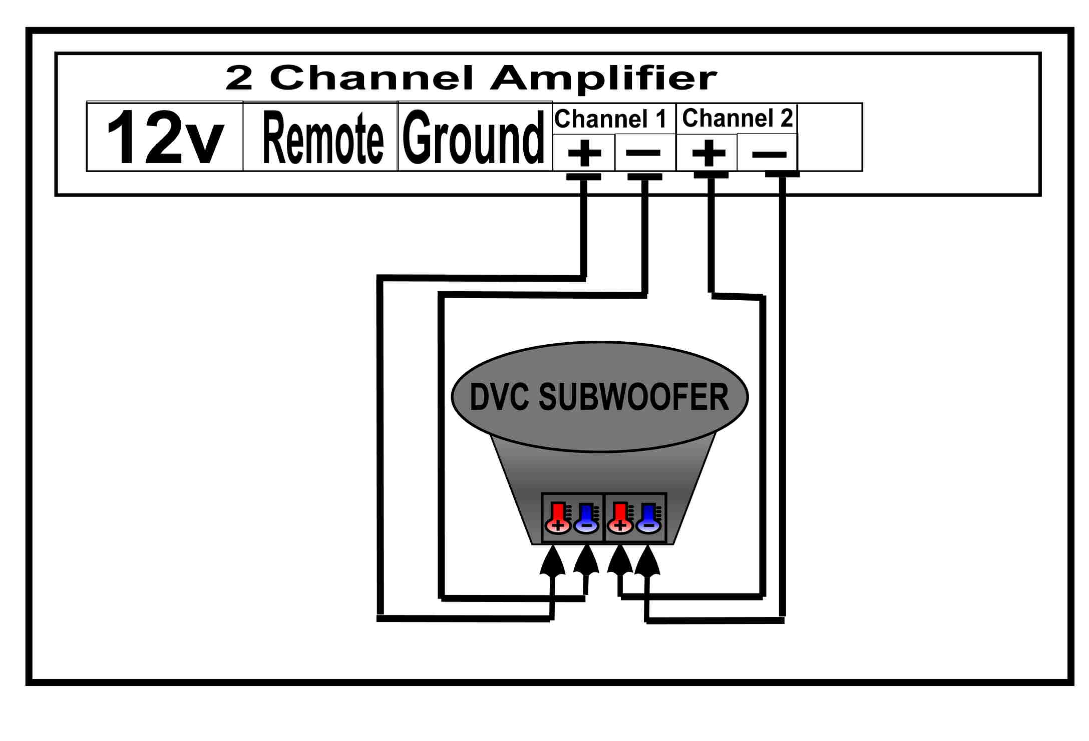 10 Dvc Subwoofer Wiring Diagrams 1channel Diagram