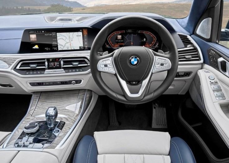 2020 BMW X7 Interior & MSRP