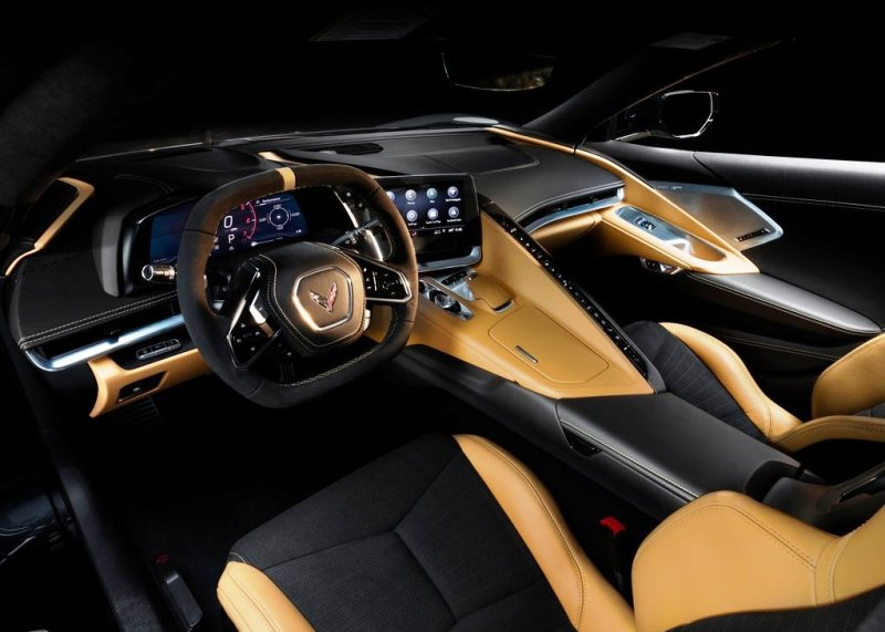 2020 Corvette Stingray Natural Dipped Interior Colors