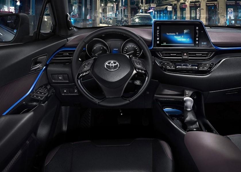 2021 Toyota C-HR Hybrid Engine