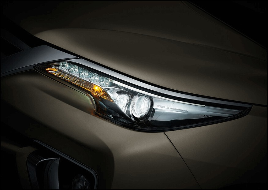 2021 Toyota Fortuner Headlamp Updates