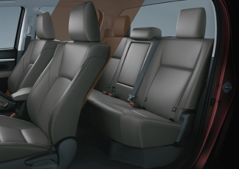 2021 Toyota Hilux Double Cabin Interior