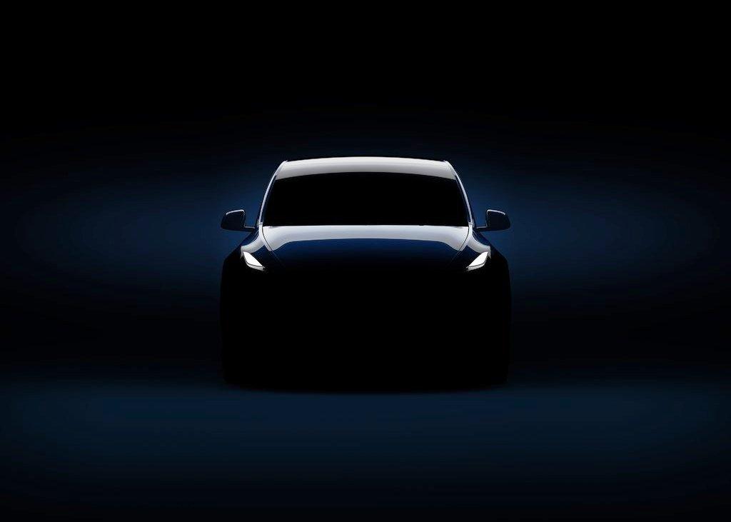 New Tesla Model Y Images