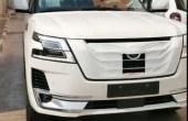 2021 Nissan Patrol Spied Images