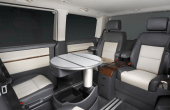 2021 VW Transporter Camper Interior