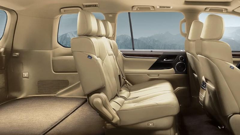 2021 Lexus LX 570 Interior Capacity