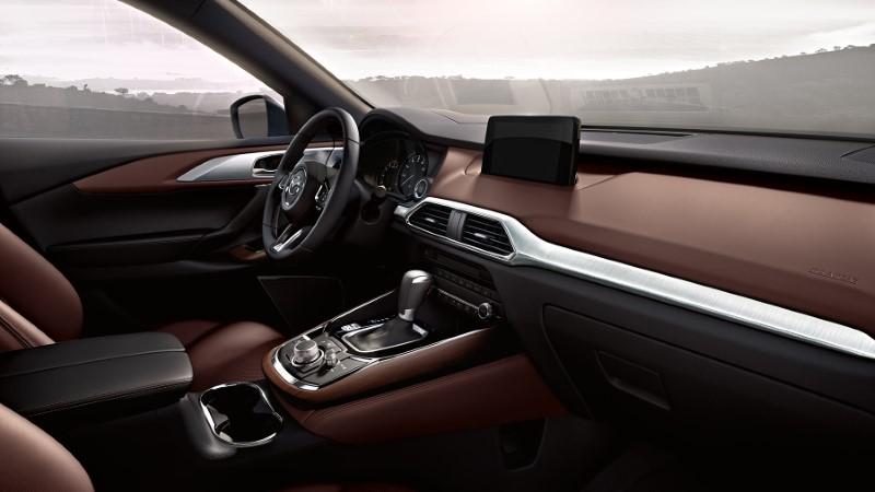 2021 Mazda CX-9 Interior New Dashboard