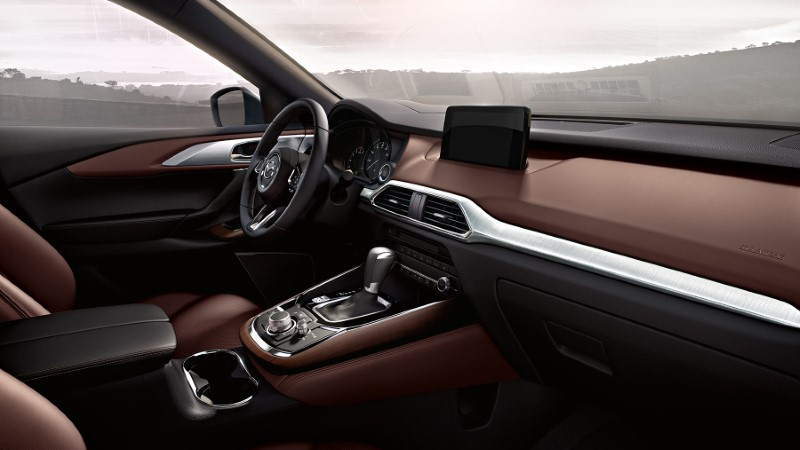 2021 Mazda CX-9 Interior New Dashboard
