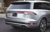 2021 lincoln Aviator Rear Angle