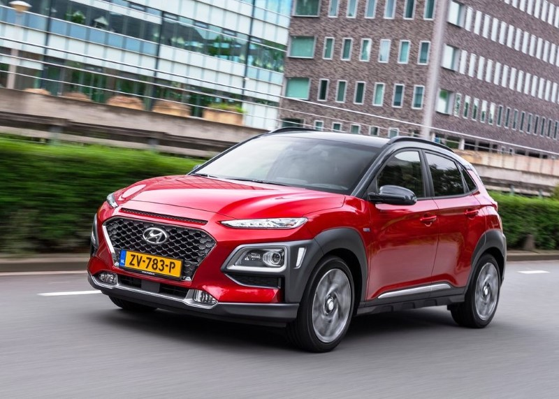2021 Hyundai Kona Red Color