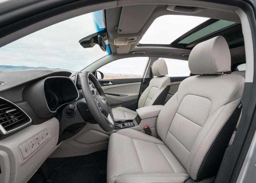 2021 Hyundai Tucson Interior Changes & Capacity