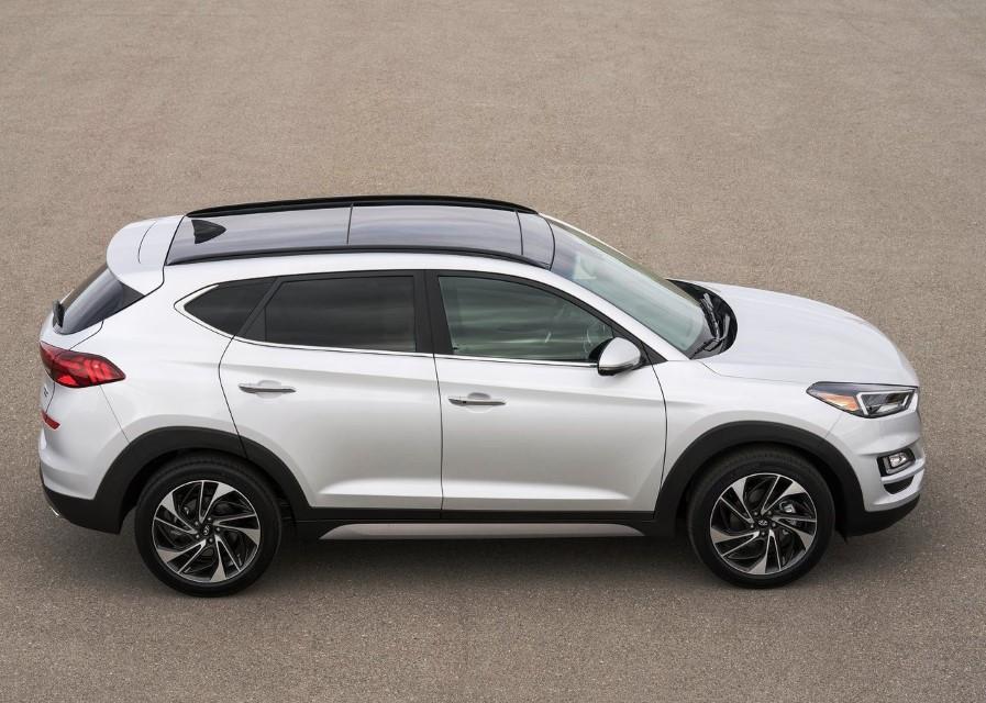 2021 Hyundai Tucson SUV Dimensions