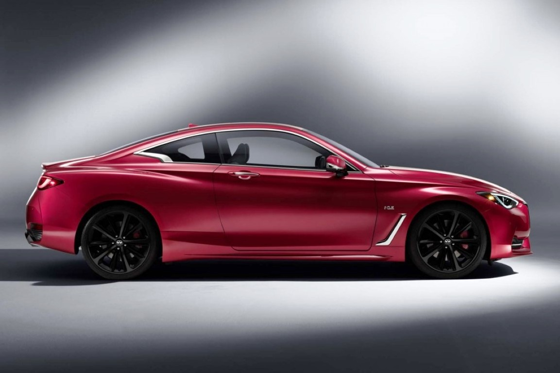 2021 Infiniti Q60 Red Color
