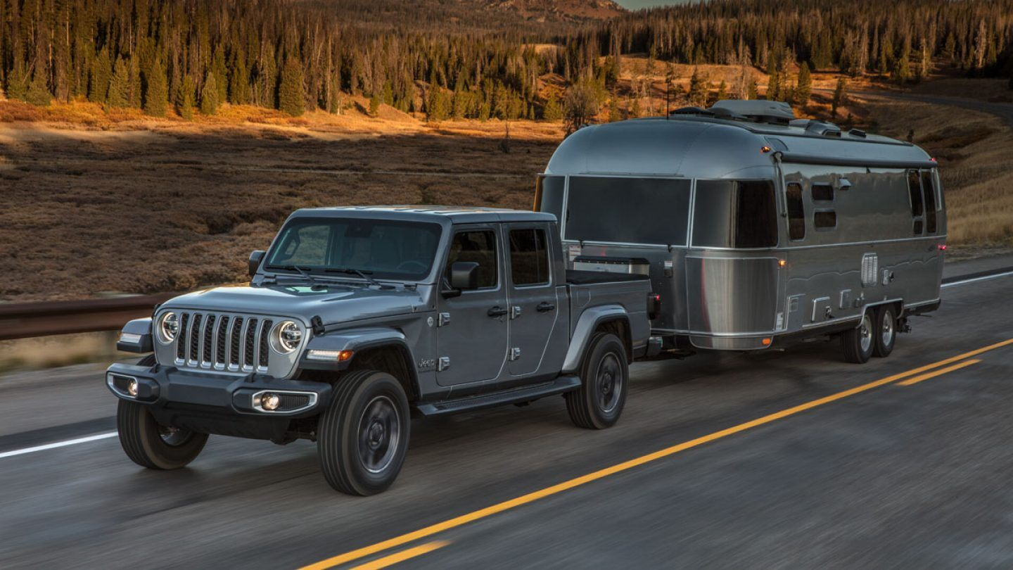 2021 Jeep Gladiator Hercules Towing Capacity