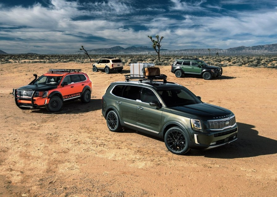 2021 KIA Telluride SUV Review - Biggest KIAs SUV