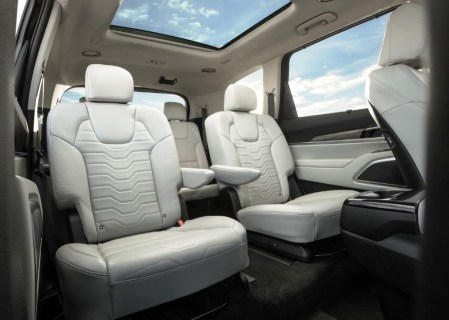 2021 KIA Telluride Seat Capacity & Dimensions