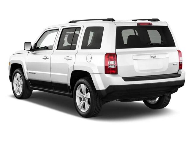 New Jeep Patriot White Color