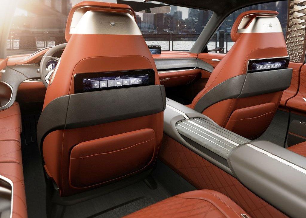 2021 Genesis GV80 Interior Features Images