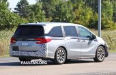 2021 Honda Odyssey Changes - Spy Pictures by Paultan.org
