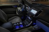 2021 Ford Edge New Interior Features With Blue LED
