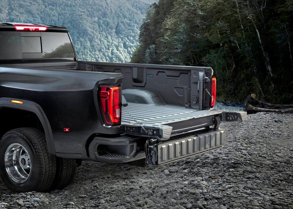 2021 GMC Sierra 2500HD Bed Size