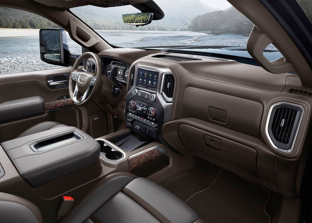 2021 GMC Sierra 2500HD Interior With New Leather and Colors