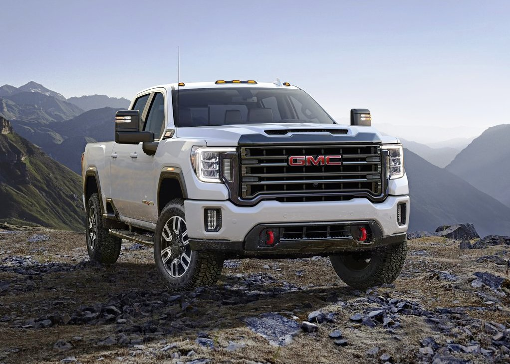 2021 GMC Sierra 2500HD White Colors