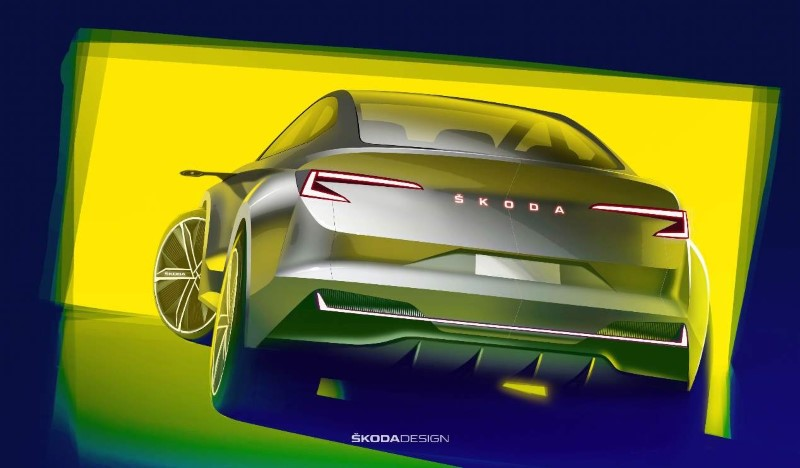 2020 Skoda Eniaq iV Concept design