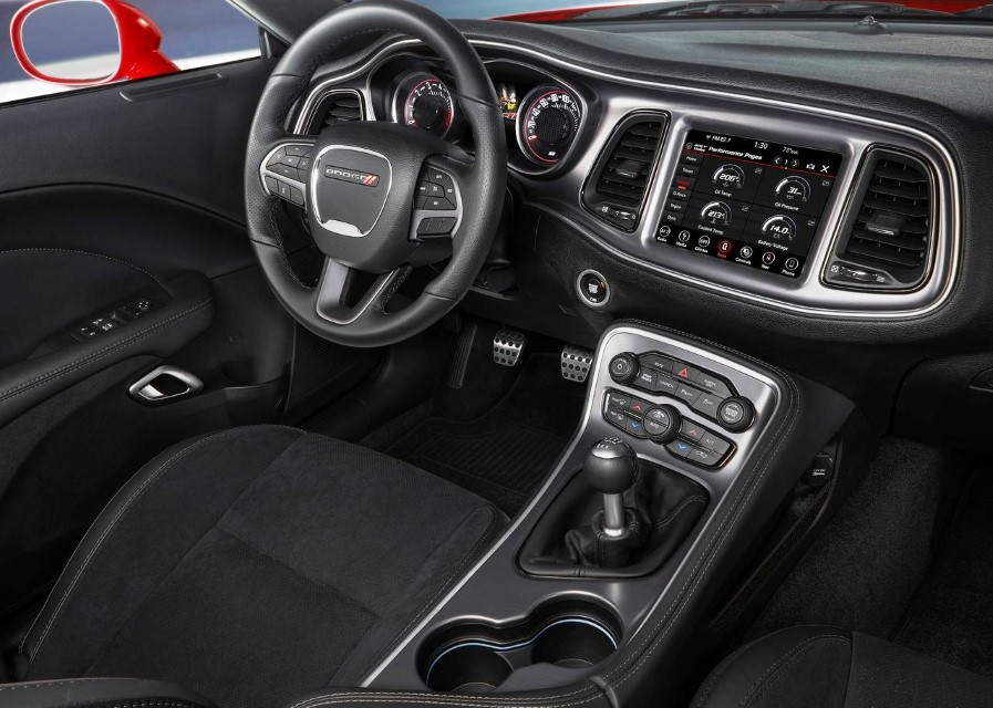 2021 Dodge Challenger Interior Updates