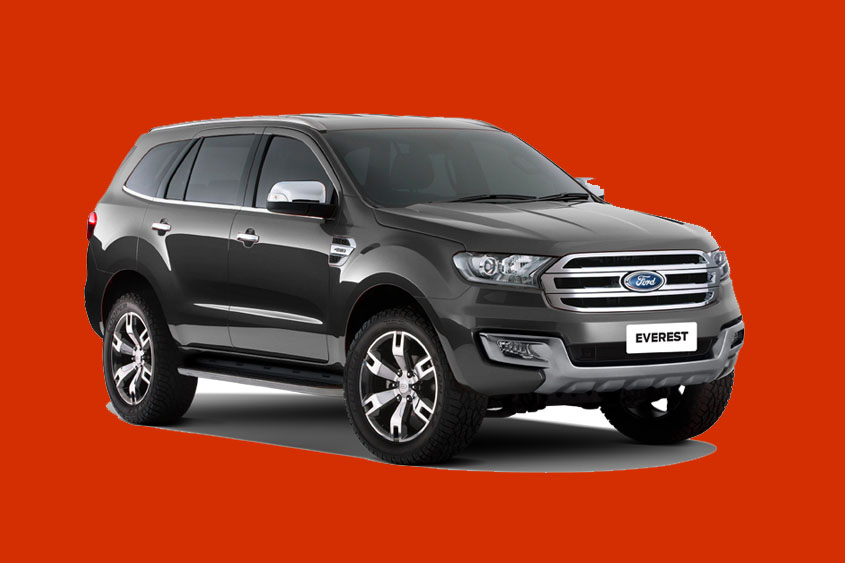 2021 Ford Everest Pictures