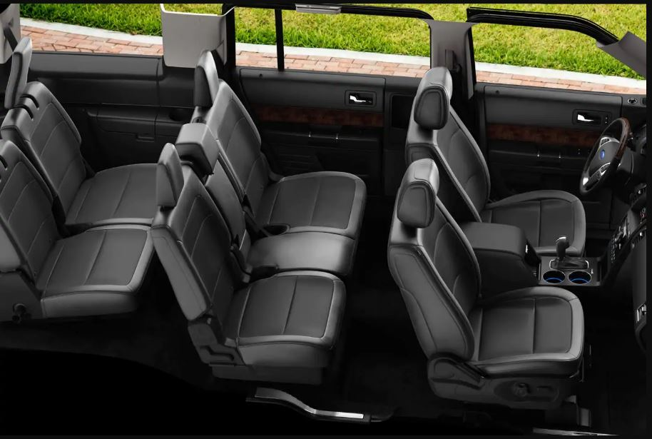 2021 Ford Flex Interior 6 Passenger Capacity