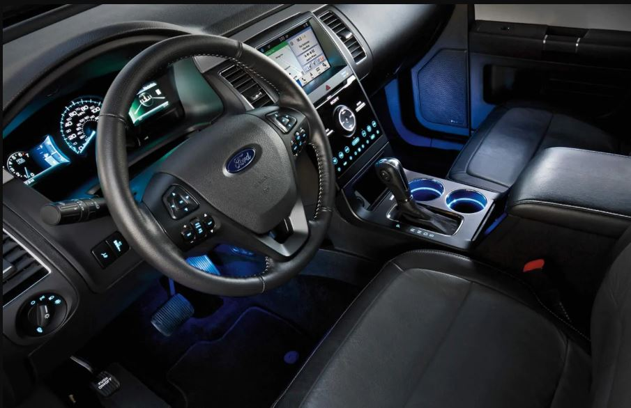 2021 Ford Flex Interior Dashboard with new features