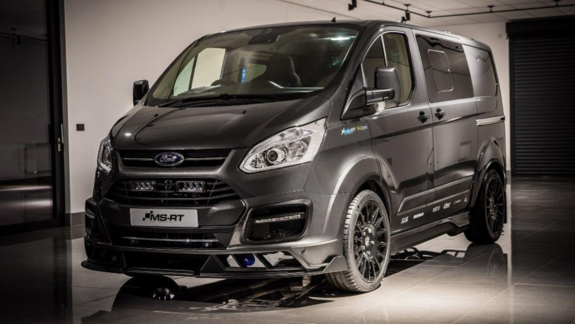 2021 Ford Transit Connect van Black Concept Design