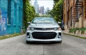 2021 Chevy Sonic Redesign Front Angle With New Head Lamp and Grille