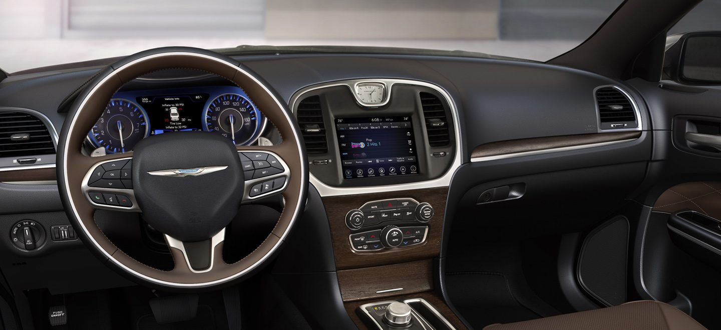 2021 Chrysler 300 Interior WIth New features