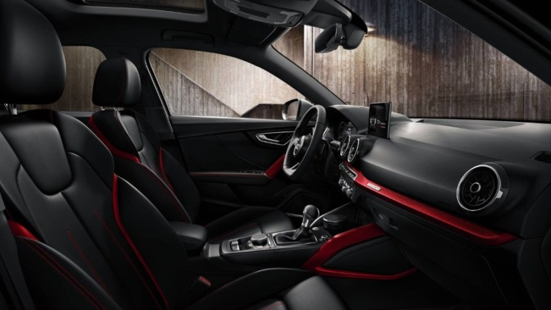 2021 Audi Q2 Interior With New Red Strip Sporty Fashion Look
