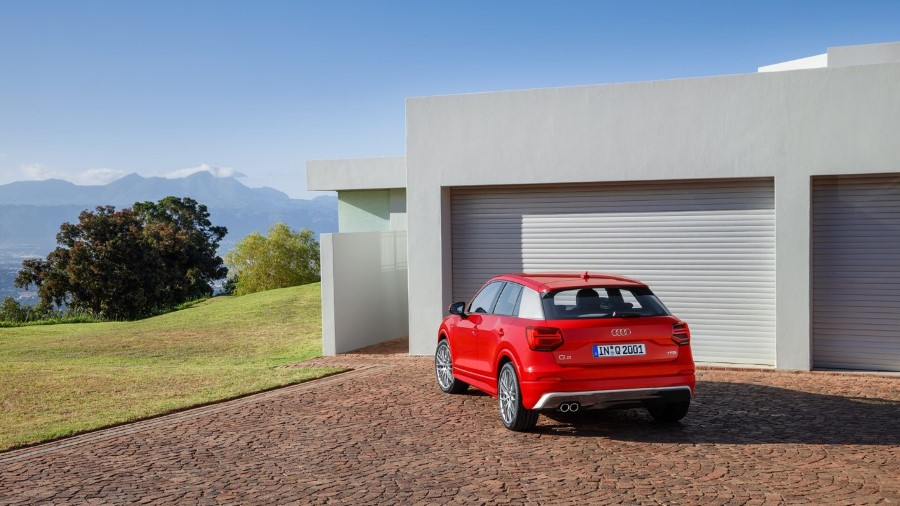 2021 Audi Q2 Red Charming Sporty Exterior