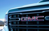 2021 GMC Canyon New Front Angle With New Headlight and New Grille
