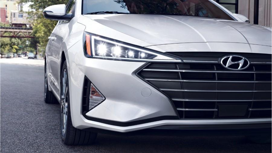 2021 Hyundai Elantra New Headlight