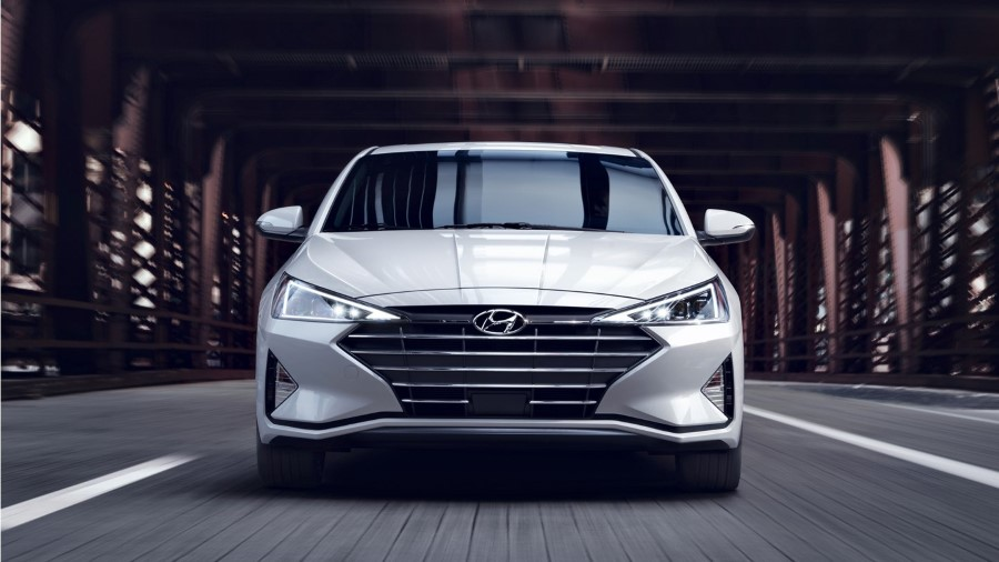 2021 Hyundai Elantra Redesign Exterior Front End With New Headlamp and Grille