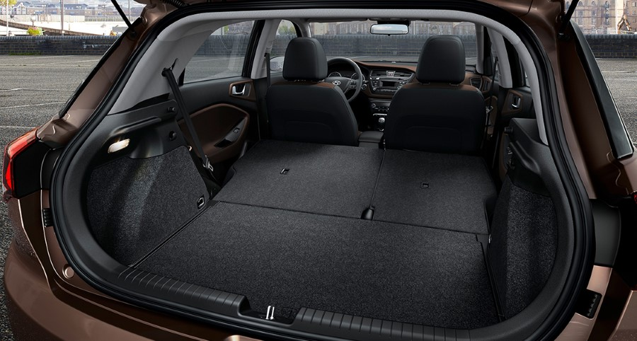 2021 Hyundai i20 Trunk Capacity Cargo Space