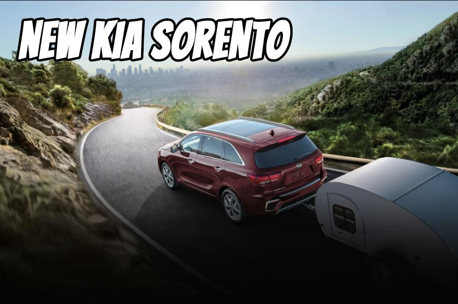 2021 KIA Sorento Towing a trailer