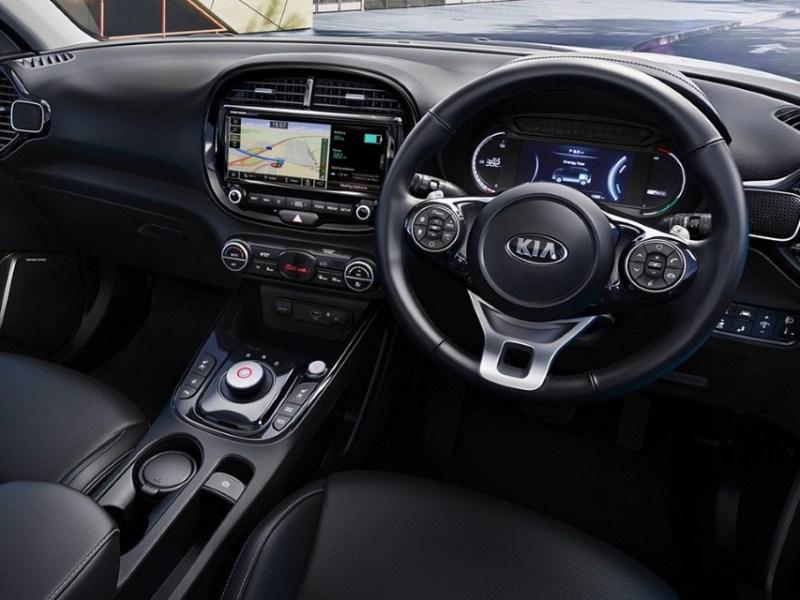 2021 KIA Soul EV Interior and Features