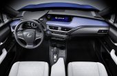 2021 Lexus UX 300e Autonomous Features inside the Interior
