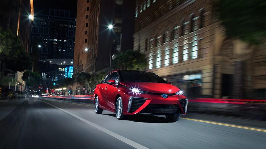 2021 Toyota Mirai Fuel Economy