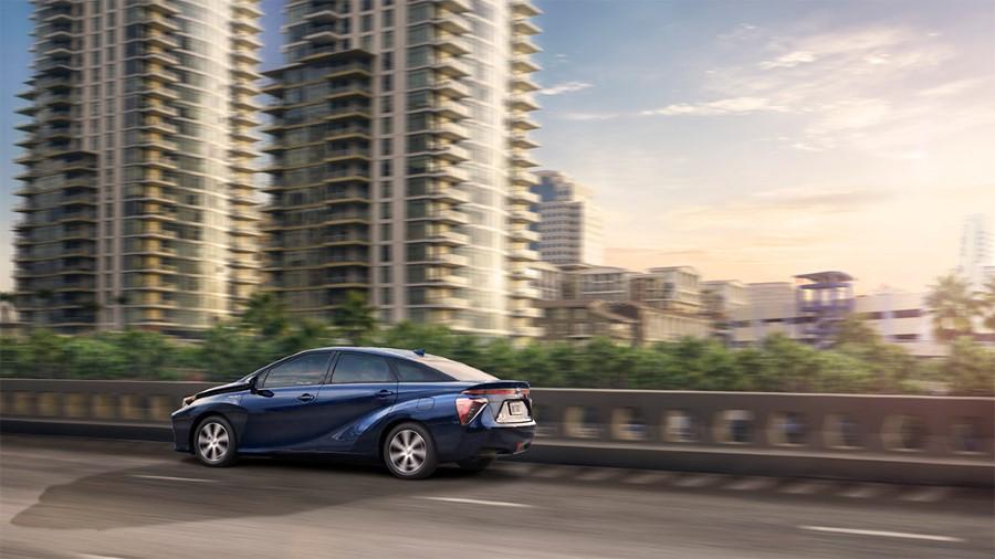 2021 Toyota Mirai Sedan Blue Color