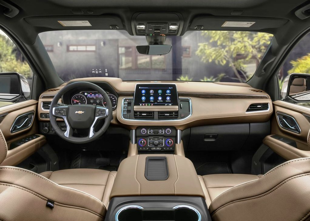 2022 Chevy Suburban New Interior Photis
