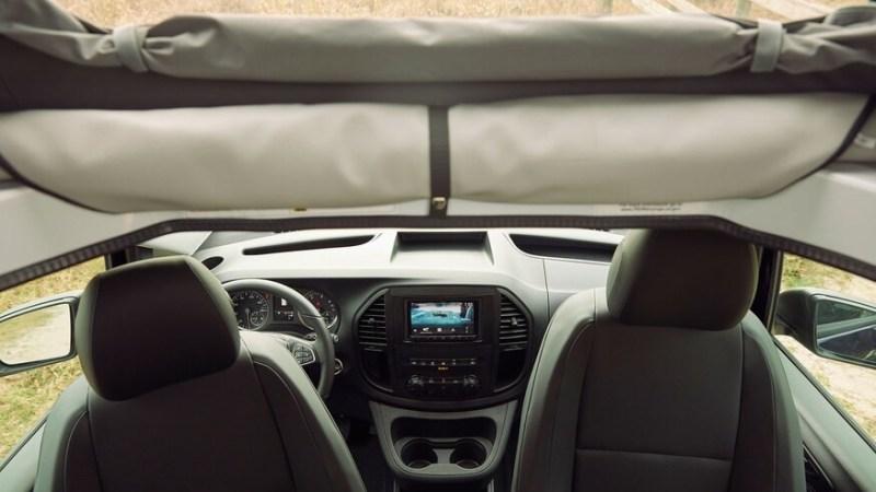 2021 Mercedes-Benz Metris Weekender Camper Interior Dashboard
