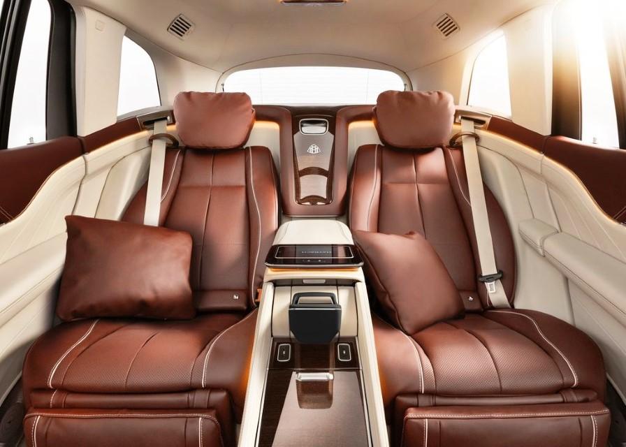 2021 Mercedes Maybach GLS 600 Interior Luxuy