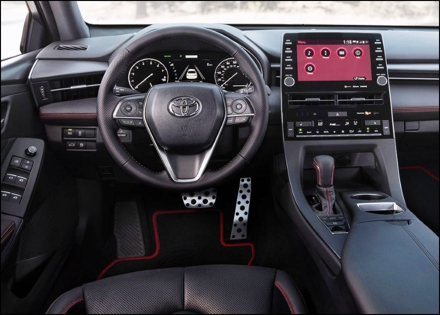 2021 Toyota Avalon AWD Interior